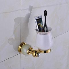 诚信厂家长期供应 金色款单杯 牙刷牙杯架 漱口杯架 卫浴墙壁挂件 金色