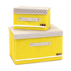 Creative QQ receiving box with lid color non-woven fabric receiving box two pieces of packing box cl Can be customized Can be customized