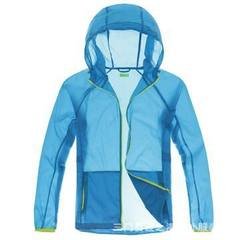 Wholesale summer men and women outdoor skin windbreaker fishing sun protection clothes can be custom Male sky blue s.
