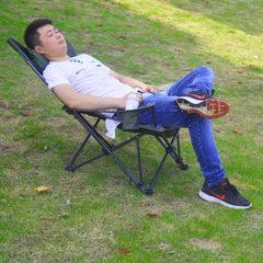 莫崎户外便携式折叠椅子沙滩椅野营凳子坐躺两用椅午休椅睡觉椅子 168cm*56cm*69cm