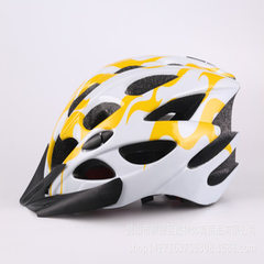 Cycling helmet spot wholesale bicycle helmet factory bicycle helmet helmet helmet helmet safety helm yellow s.