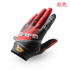 Cycling gloves all refer to the motorcycle touch screen gloves long refer to men and women anti-skid MTB red m