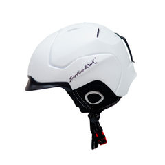 2017 new ski helmet, snow helmet, sports helmet, men`s and women`s snowboarding helmet white l