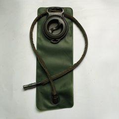 2.5L食品级TPU水袋内胆 户外运动折叠水袋登山旅游水袋饮水胆直销 军绿 2.5L