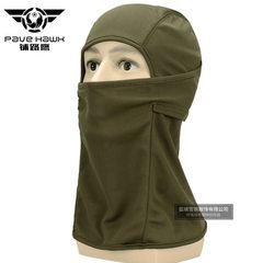 Cross border tactical head cover camouflage head cover outdoor cycling speed dry dust cover head cov green All code