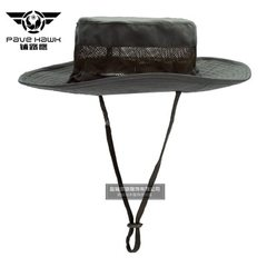 Tactics round brim cap us military cap summer breathable round brim hat sunshade outdoor quick dry c green All code