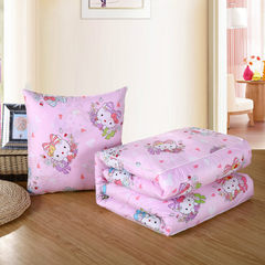 Cartoon car pillow by summer cool by dual - purpose cushion for leaning on by sofa pillow air condit KT cat - powder 50 * 50 cm