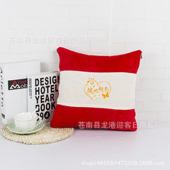 Factory direct sale multi - purpose pillow by cushion advertising gifts home textiles can be customi red 40 * 40 cm