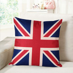 New American style fashion pillow creative pillow pillow pillow gift pillow by welfare pillow by man The union flag 45 * 45 cm