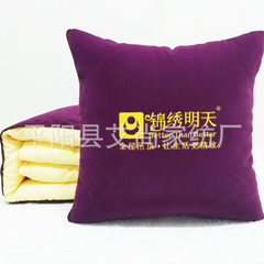 Hot selling multi - functional pillow manufacturers customized LOGO advertising pillow by custom car 40 * 40 cm