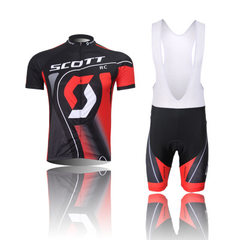 SCOTT cycling wear short sleeve suit cycling jacket speed down suit cycling apparel manufacturers di Short sleeve suspender suit ~1 XXS