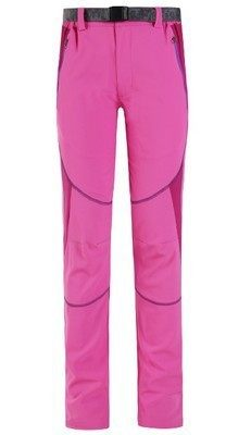 Spring and summer cycling trousers men`s and women`s quick dry cycling trousers mountain bike sports Pink - female s.