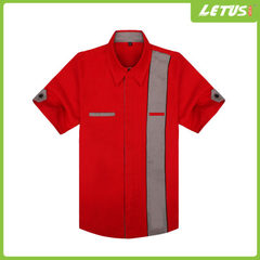 Customized automobile beauty industry oil company working clothes promotion gifts outdoor racing clo red s.