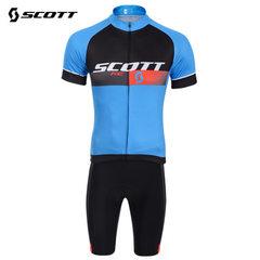 SCOTT cycling suit short sleeve suit parent-child outdoor sports suit assault suit T-shirt perspirat Short sleeve suit ~1 XXS