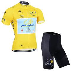 Summer short-sleeved cycling suit men cycling equipment jacket shorts mountain bike cycling team edi white s.