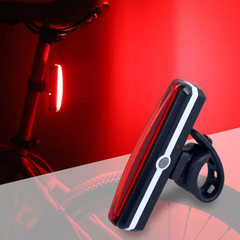 Self-propelled headlight COB warning lamp USB charging safety lamp mountain bike ride 2266 warning t Red light