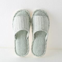 春秋拖鞋软底室内家用木地板托鞋四季男防滑防臭棉布家居棉拖鞋女 米线(粉色) 37-38码(适合36-37)