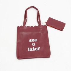 Spring 2018 new European and American single shoulder bag women with oblique handbag bag fashionable red