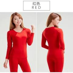 Lady darfusi mordel slim figure body thermal underwear body shape sexy autumn winter thermal suit red All code