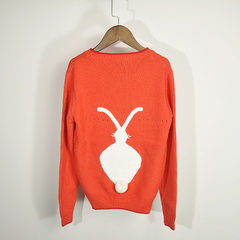 Sweater custom-made processing wholesale agent Europe and the United States big name brand similar b orange s.