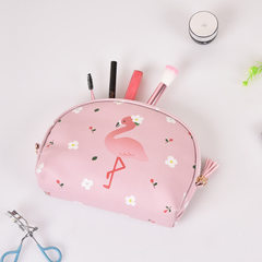 New Korean version of cartoon make-up bag travel waterproof large capacity convenient bag with cute  White sheep