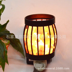 Creative iron art wall lamp round iron art small night lamp bedroom corridor dedicated crystal salt  15/25 (w)