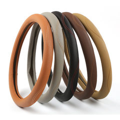 Automobile steering wheel cover new fashion lichee grain four seasons general motors set manufacture Style is m 38 cm