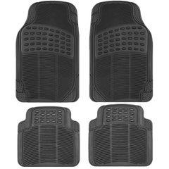 Spot car pad PVC universal black gray rice plastic car pad waterproof anti - skid four seasons pad w black