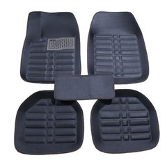 Manufacturer`s direct selling indentation all around the car pad PVC silk circle universal foot pad  Sweet rice