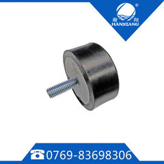 Rubber cushion car rubber shock absorber dongguan manufacturing hardware package rubber 75 * 50 * M12
