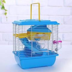 Hamster cage hamster cage hamster house hamster supplies double villa new style villa with transpare red