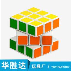 三阶魔方减压三阶魔方比赛入门初学成人儿童益智玩具厂家批发直销 中文一盒6个