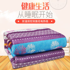 Manufacturer`s direct selling 2017 winter new electric blanket 1.5*1.2 double control double-sided p Design is a