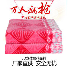 Manufacturer direct selling electric blanket flannel printing 1.8*2 three - speed thermostat plate s 1.8 * 2.0 bright pink 1.8 * 2.0
