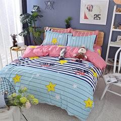 厂家直销 磨毛斜纹被套四件套定制植物羊绒床单 床上用品家纺批发 被套200*230床单230*230枕套78*45