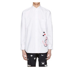 Jackson the same style of clothing long-sleeve shirt men and women general students around the suppo white s.