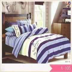 斜纹长毛绒厂家直销 天然加厚植物羊绒磨毛四件套床上用品批发 200X230