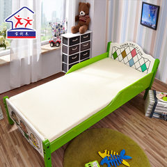 Kindergarten three sets of children`s mattresses high temperature shaping polyester fiber infant mat 50 * 126