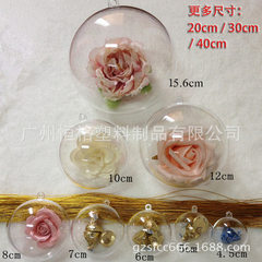 Factory direct sale wedding decoration props with idyllic European style festival acrylic hanging ho 50 mm to 400 mm