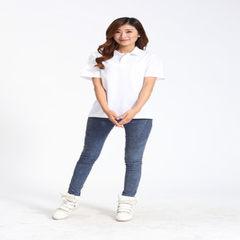 翻领广告衫定制印logo短袖文化衫男女polo衫印字批发工作服定做 白色 M