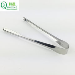 Hotel KTV stainless steel ice clip barbecue grills food folder bread folder kitchen helper baking su With magnetic 15 cm