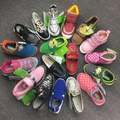 Fujian brand graphic children`s shoes 20-30 yards multi - color code mixed approval multicolor 20-30