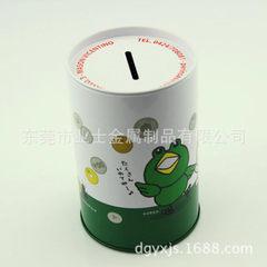 东莞生产厂家供应圆形迷你存钱小铁罐 油桶存钱罐 D74x114mm