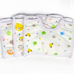 Small u-shaped lengthened waterproof baby drool towel/baby wiggle shoulder 8135 Randomly send