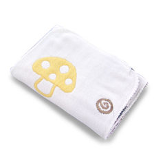Six layer gauze full cotton diaper baby diaper diapers nappies comfortable breathable skin-friendly  The mushroom 16 * 45 cm