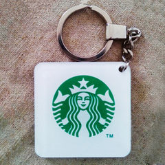 定做亚克力钥匙扣 定制钥匙链动漫卡通挂件 高档创意礼品定制 多色可定制 可定制