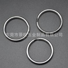 The manufacturer produces high quality 304 stainless steel double ring metal ring key ring ring meta ecru 1.0 * 20 mm
