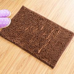 超强吸水雪尼尔地垫 卧室门垫脚垫厨房浴室门口防滑垫批发 咖啡色 60*40cm
