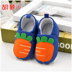 0-1 year old spring and autumn baby shoes anti-skid toddler shoes customized baby soft-sole toddlers carrots 11 yards (inside length: 11cm)