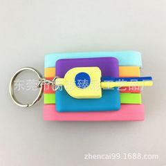 Q version 3d tank key chain accessories 3d cartoon tank key chain pendant tank key ring pendant color